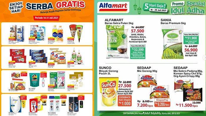 BURUAN! PROMO Alfamart Hari Ini 17 Juli 2021: Beli Sabun Mandi Gratis Gula Pasir atau Minyak Goreng