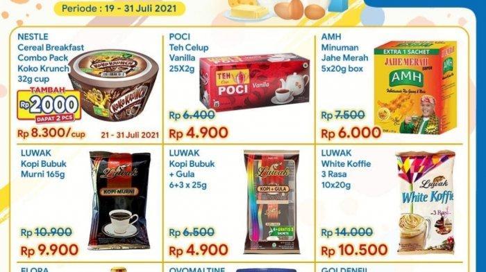 BARU, Promo Indomaret 21-22 Juli 2021, Promo Minyak Goreng Murah, Koko Krunch Tambah Rp2.000 Dapat 2