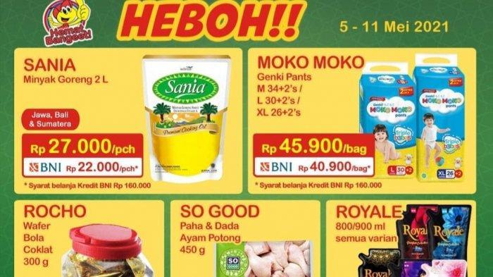 BARU, Promo Indomaret hingga 11 Mei 2021 BANJIR DISKON, Minyak Goreng 22.000, Beli Susu Gratis Sirup