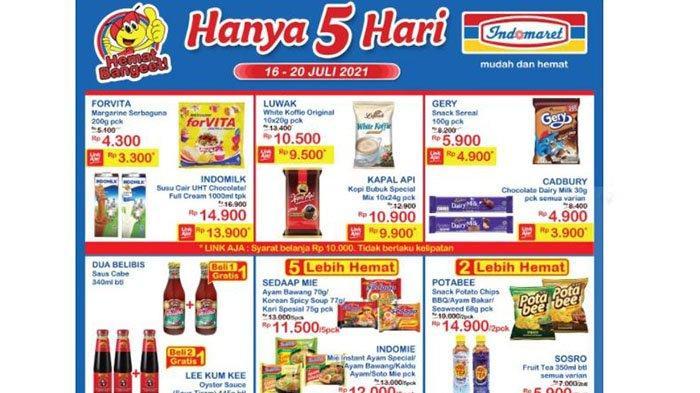 BARU PROMO JSM Indomaret 16 - 20 Juli 2021: Cadbury Dairy Milk Rp4.900, Aneka Snack +Rp2.000 Dapat 2