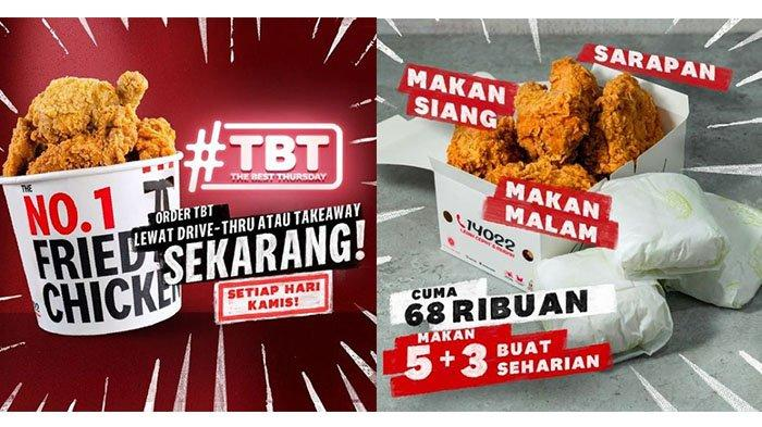 BARU! PROMO KFC Hari Kamis 29 Juli 2021: Beli 10 Potong Ayam Cuma Rp90 Ribuan, Coba Sambal Nusantara