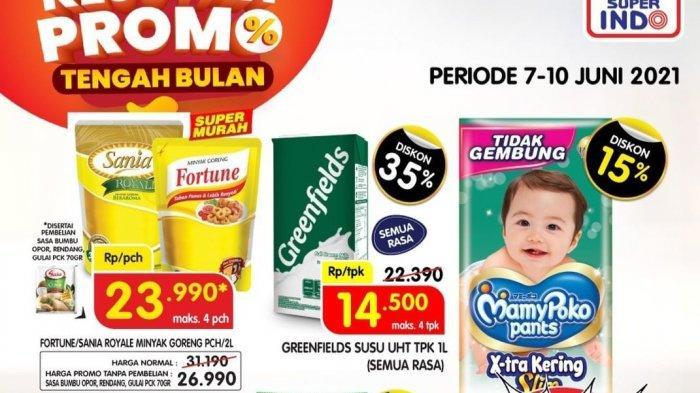 BARU,Promo Superindo 9 Juni 2021 Minyak Goreng 23.990, Susu UHT 1L 14.500, Nivea Body Serum 20.200