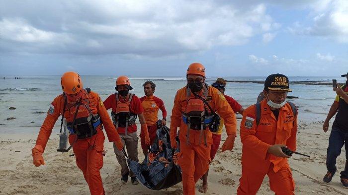UPDATE: 3 Hari Dilakukan Pencarian, Pria yang Tenggelam di Pantai Dreamland Akhirnya Ditemukan