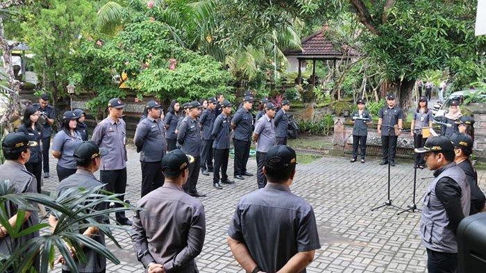 Bawaslu Bali Apel Siaga Patroli Masa Tenang, Siap Terjunkan 12.384 Pengawas TPS se-Bali