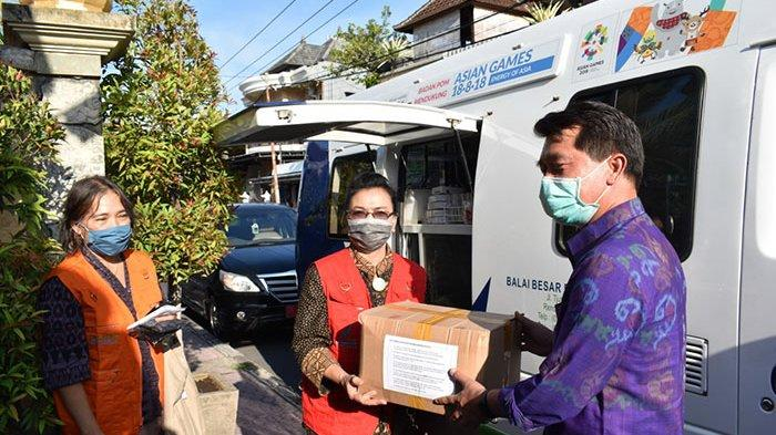 BBPOM di Denpasar Gelar Pengawasan Pangan, Serahkan 500 Pcs Masker ke Gugus Tugas COVID-19 Klungkung