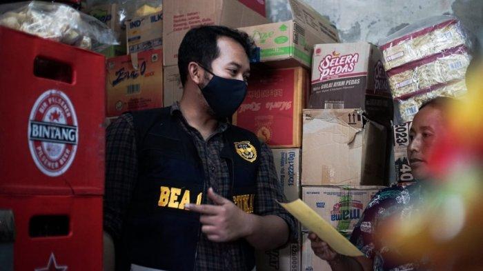 Tekan Peredaran Rokok Ilegal, Bea Cukai Bali Nusra Gelar Operasi Pasar