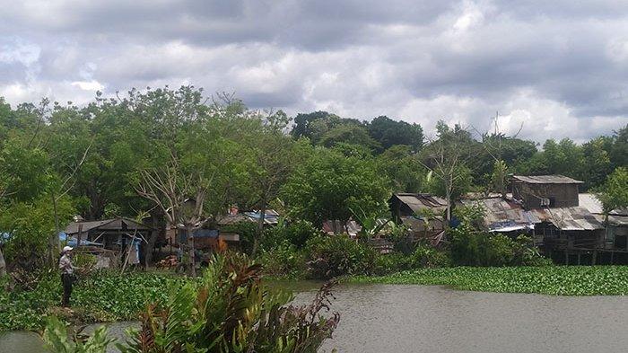 Rumah Bedeng Masih Nampak di Eks Galian C,Akan Ditertibkan Jika Proyek Pusat Kebudayaan Bali Dimulai