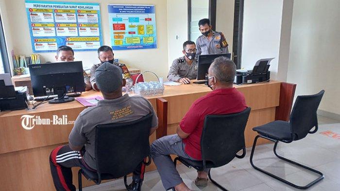 Dugaan Penyelewengan Uang di LPD Dawan Kelod, Warga Melapor ke Polres Klungkung
