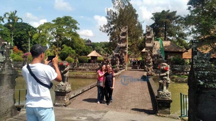 Akhir Tahun Tingkatan Kunjungan Wisatawan Ke Taman Ayun Melebihi Libur Lebaran Tribun Bali