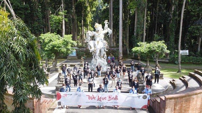 Objek Wisata Sangeh Mulai Diserbu Wisatawan Domestik, Rata-Rata 100 Orang Perhari
