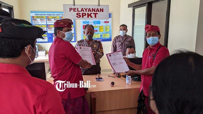 Kader PDIP Klungkung Datangi Polisi, Minta Usut Pemilik Medsos Hoax Megawati Sakit