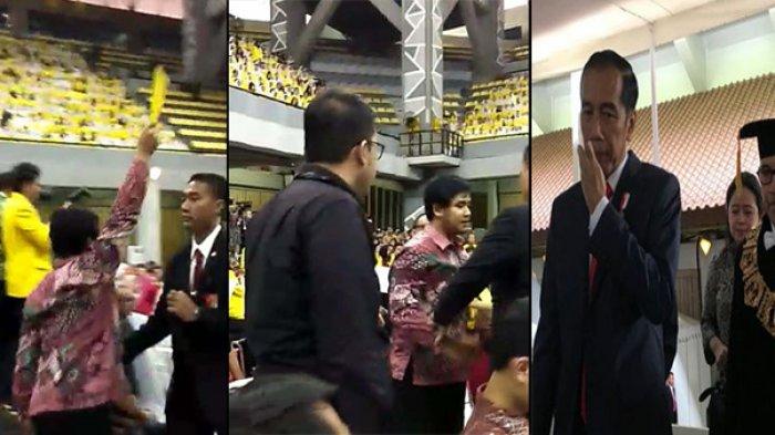 Tiba-tiba Beri Kartu Kuning pada Jokowi, Aksi Ketua BEM UI Tuai Kecaman, PMII: Ini Pesanan!