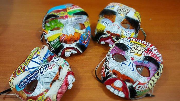 Ini Berbagai Karya yang Dihasilkan Wajah Plastik, Harganya Mulai Rp 500 Ribu Hingga Rp 5 Juta