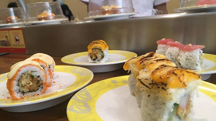 Sushi Bushi Kuta Tawarkan Makan Sushi Bintang 5 Harga Kaki Lima, Hanya Dibanderol Rp 10 Ribu/Piring