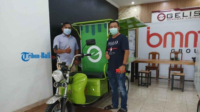 Dukung Sektor UMKM, Gerobak Listrik (Gelis) Resmi Mengaspal di Bali