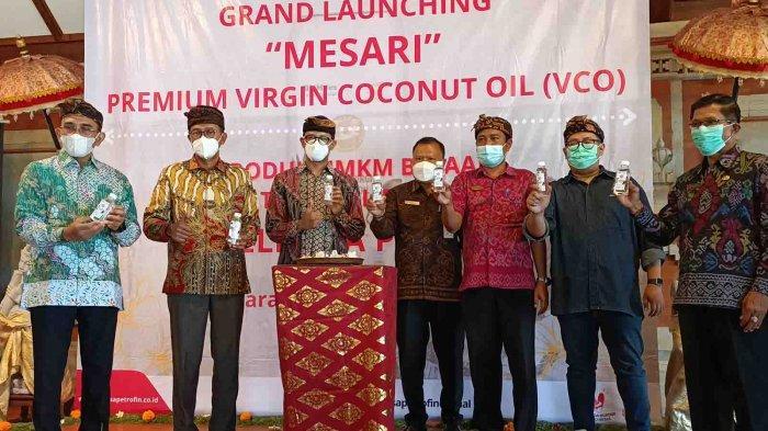 Elnusa Petrofin Dukung Pengembangan UMKM Virgin Coconut Oil dari Desa Antiga Karangasem