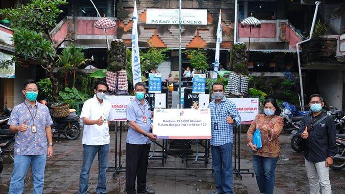 Beri Bantuan Sarana Prasarana Pasar, BRI Denpasar Dukung Pemberdayaan UMKM di Era New Normal