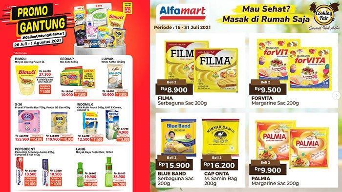 Promo Alfamart 30 Juli 2021, Promo Susu Chil Kid, Bebelac hingga S-26, Downy 900 Ml Rp18.900