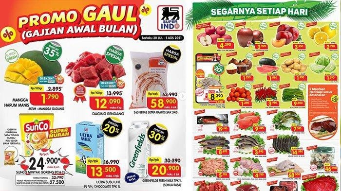 BERLANGSUNG! PROMO Superindo 30 Juli 2021: Mangga Harum Manis Diskon 35%, Susu Ultra 1L Rp13.500