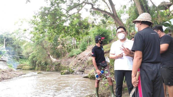 Bersama Relawan Peduli Sungai, Wawali Denpasar dan Dandim 1611/Badung Bersihkan Aliran Sungai Ayung