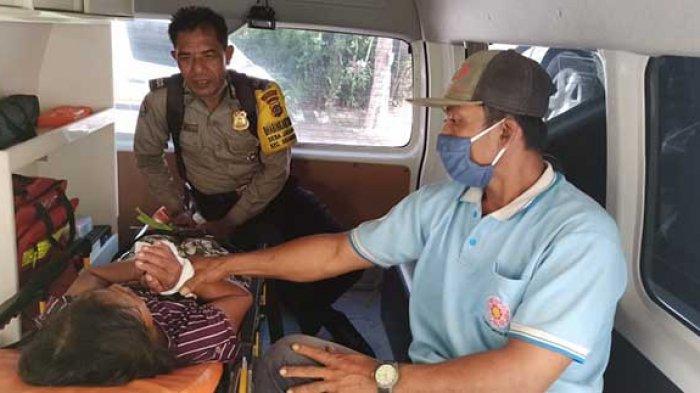 Bhabinkamtibmas Jagapati Badung Amankan ODGJ, Dibantu Masyarakat Berhasil Dibawa ke RS Jiwa Bangli