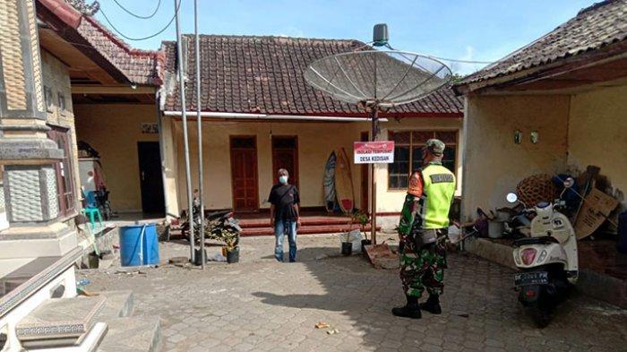 Cegah Klaster Covid-19 Baru,Jajaran Kodim Bangli Sambangi Warga yang Jalani Isolasi Terpusat di Desa