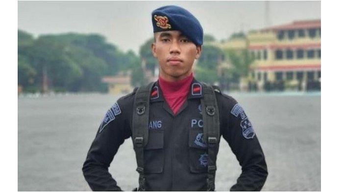 Anggota Brimob, Bharada I Komang Wira Natha gugur ditembak oleh Kelompok Kriminal Bersenjata (KKB) di Ilaga, Kabupaten Puncak, Selasa 27 april 2021 siang.