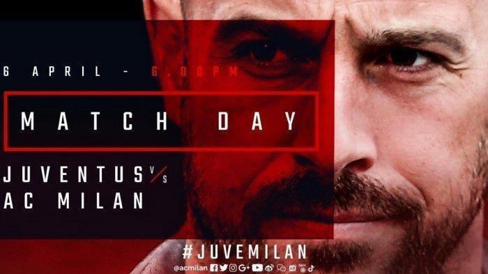 Live Streaming Juventus vs AC Milan Kick-off 00.15 WITA di Bein Sports 3, Juve Bisa Raih Scudetto