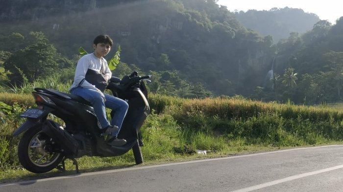Demi Hasilkan Konten Menarik, Biker LEXi asal Jakarta Jelajah Geopark Ciletuh
