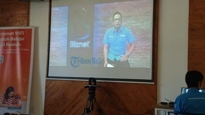 Miliki Infrastruktur Internet Merata dan Memadai, Biznet Dukung Program Work From Bali