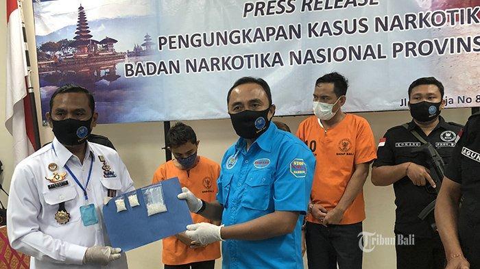 BNN Bali Tangkap 3 Pengedar Sabu di Singaraja