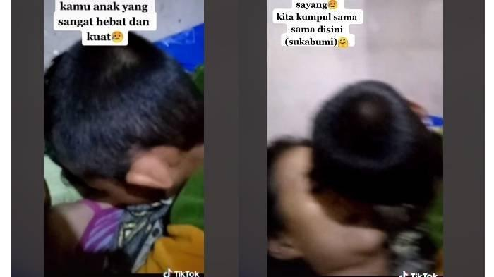 Viral Video Bocah 9 Tahun Peluk dan Cium Jenazah Ibunya, Terdengar Isak Tangis
