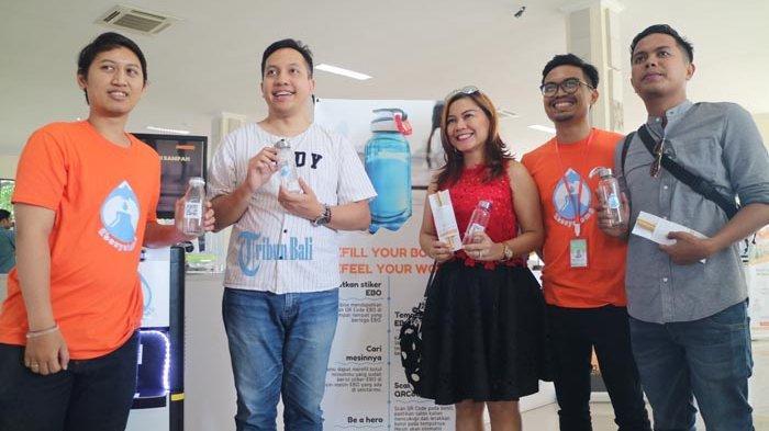 ATM Refill Air Minum, 20 Instansi Sudah Pesan, Gede Oka: Kalau Haus Kita Butuh Air, Bukan Botol Kan?