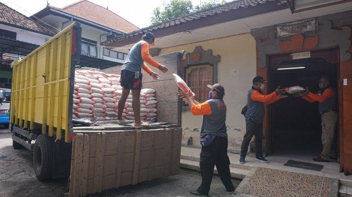 Calon Penerima Bantuan Beras dan Garam dari Donasi ASN di Klungkung Mencapai 15.988 KK