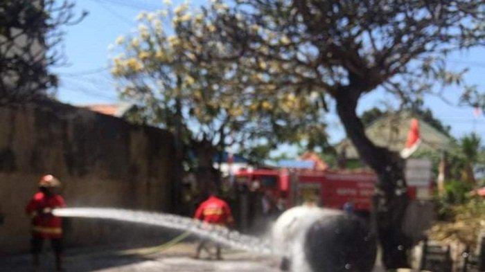 Gudang Perusahaan Perak di Kertalangu Terbakar, SeginiTotal Kerugian