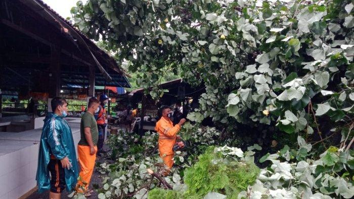 Tiga Bencana Alam Terjadidi Tabanan Karena Hujan Deras