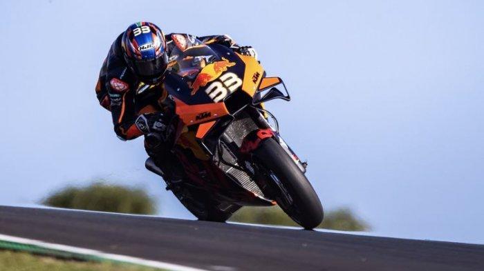 HASIL MotoGP Austria 2021: Brad Binder Menang Dramatis, Rossi Finish 10 Besar, Marquez Sempat Jatuh