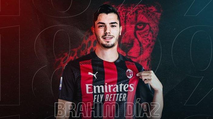 Brahim Diaz resmi bergabung ke AC Milan.