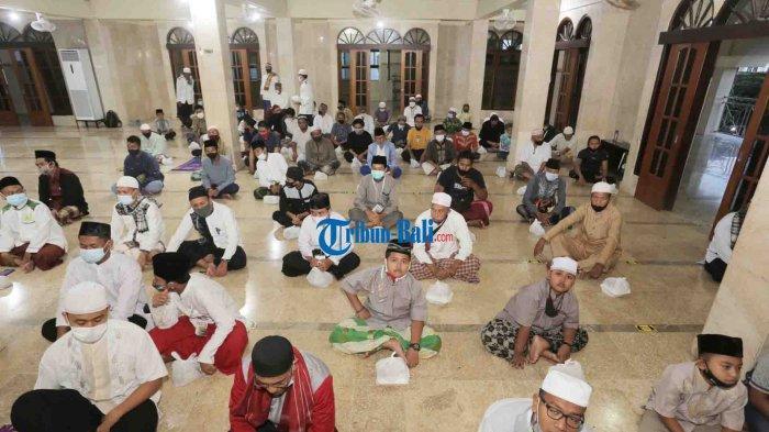 Acara Buka Bersama Puasa Tetap Dilakukan di Masjid Raya Baiturrahmah Denpasar Bali