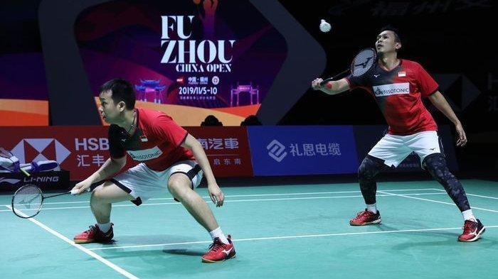 BWF World Tour Finals, Mohammad Ahsan/Hendra Setiawan Pernah Dua Kali Kalah dari Ganda Korsel Ini