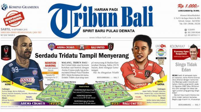 Kiper Bali United Bertubi-tubi Tangkis Serangan