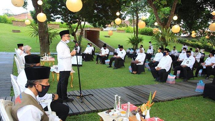 Bupati Anas Ajak Organisasi Perangkat Daerah Jaga Kekompakan Hadapi Covid-19