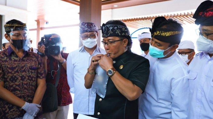 Bupati Badung Hadiri Launching Perdana GeNose dan E-Ticketing di DTW Kawasan Luar Pura Uluwatu