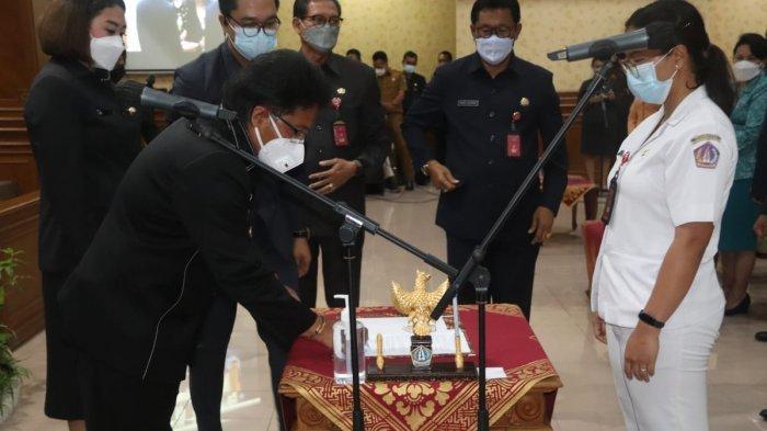 Bupati Giri Prasta Lantik 221 Pejabat di Badung