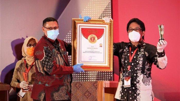 Badung Raih Penghargaan sebagai Kabupaten Sangat Inovatif dari Kemendagri