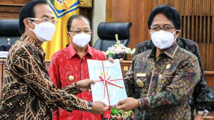 Bupati Badung Giri Prasta Hadiri Rakor Program Pemberantasan Korupsi