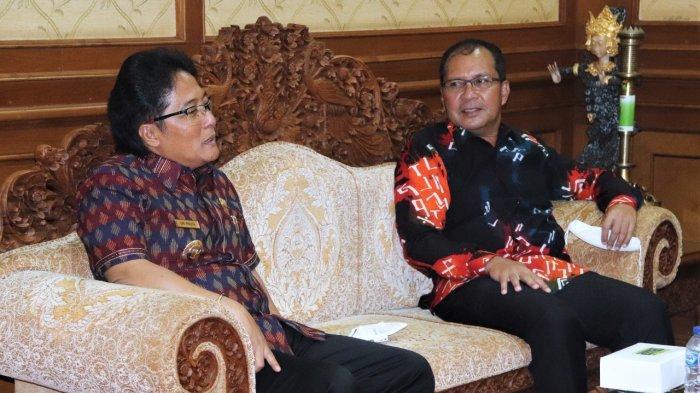 Bupati Badung Terima Kunja Wali Kota Makassar, Diskusi Pemulihan Pariwisata & Ekonomi di Era Pandemi