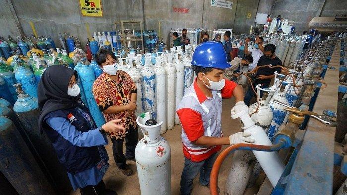Cek Ketersediaan Oksigen Medis, Bupati Banyuwangi: Lebih Baik Hirup Langsung Ketimbang dari Tabung