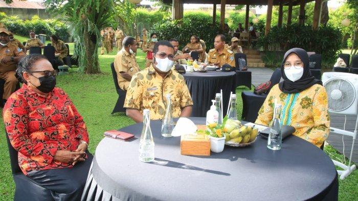 Bupati dan Ketua DPRD Biak Numfor-Papua, Pelajari Pariwisata ke Banyuwangi
