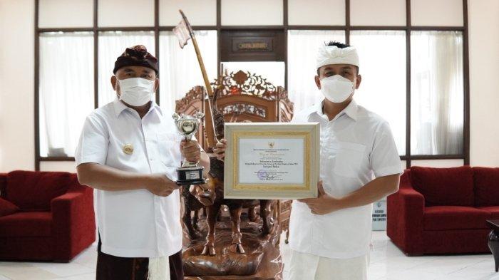 Jembrana Raih Angurah Parahita Ekapraya Kategori Madya dari Kementerian PPPA